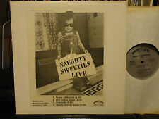 promo NAUGHTY SWEETIES LIVE at Madame Wongs 1981 DLS-2-EO-DJ NM