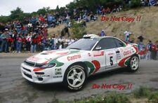 Didier Auriol Toyota Celica Turbo 4WD Tour de Corse Rally 1994 Photograph 1