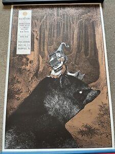 The Raconteurs Poster Jack White Ryman Nashville 266/333 Rob Jones