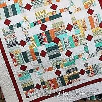 Pattern~Drop Diamonds Quilt Pattern by Cozy Quilt Designs