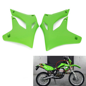 Front Fuel Tank Side Plastic Covers For Kawasaki KLX250 KLX300 1994 - 2007 Green