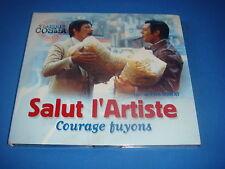 CD BOF SALUT L'ARTISTE + COURAGE FUYONS VLADIMIR COSMA POMME MUSIC 2001 ost NM