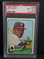 1965 Topps Rico Carty #305 NM-MT PSA 8 (OC) Milwaukee Braves