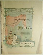 Pantomime de la statue, Musique, France, Gabriel pierne, paul foulée, notes,