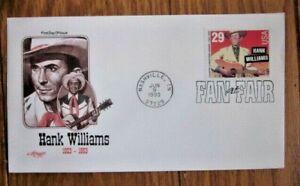 HANK WILLIAMS COUNTRY & WESTERN MUSIC LEGEND 1993  ARTMASTER CACHET FDC VF UNADD