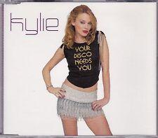 KYLIE MINOGUE RARE Your Disco Needs You Australian 5trk CD Single