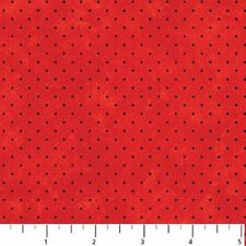 STRAWBERRY PATCH RED DOT FABRIC