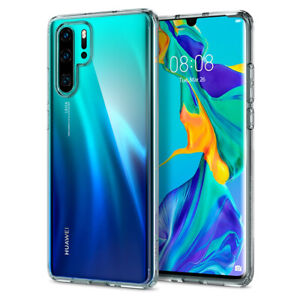 Huawei P30, P30 Pro, P30 Lite   Spigen®[Ultra Hybrid] Crystal Clear Slim Case
