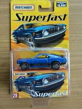 Matchbox Superfast 2005 - 1970 MUSTANG BOSS 302  Nr. 28 NEU-OVP