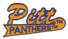 """PITTSBURGH PANTHERS PITT NCAA COLLEGE 3"""" SCRIPT PATCH"""