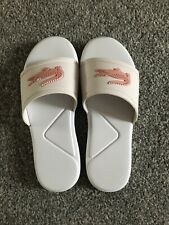 In Very Good Condition Girls Lacoste Sliders Size1