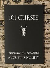 101 Curses Signed by Augustus Numley Occult book Black Magick, Witchcraft Voodoo
