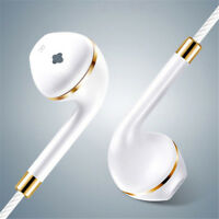 3.5mm & Mic Super Bass Music In-ear Stereo Headphone Headset Earphone Earbuds`