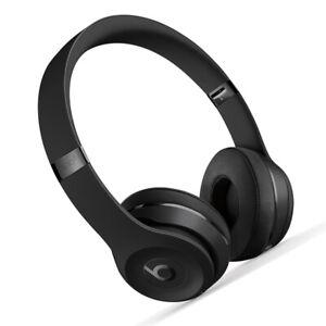 Beats by Dr. Dre Solo3 On Ear Wireless Bluetooth Headphones - Matt Black
