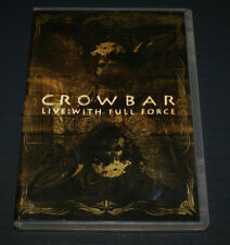 Crowbar: Live - With Full Force DVD Region ALL, NTSC VERY GOOD CONDITION