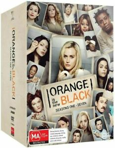 ORANGE Is The New BLACK : The Complete Series : Season 1 2 3 4 5 6 7 : NEW DVD