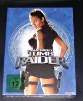 Tomb Raider Lara Croft Uncut Limitata Mediabook blu ray + DVD Opuscolo Nuovo Ovp