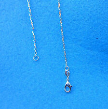 "1PCS Wholesale 26"" 925 Sterling Silver Plated Singapore CHAIN NECKLACE Pendants"