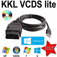 Auto Diagnostic Tool USB Cable KKL VAG-COM 409.1 OBD fits VW/Audi/Seat/Skoda