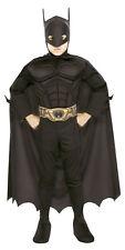 Muscle Chest Batman Deluxe Boys Costume - Large ( 12-14 ) 882006