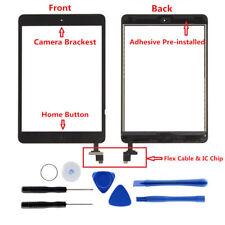 Für iPad Mini 1 2 Touchscreen Digitizer Ersatz Glas Display Bildschirm Schwarz