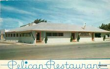 CLEARWATER BEACH FLORIDA Pelican Restaurant Beckett postcard 2751