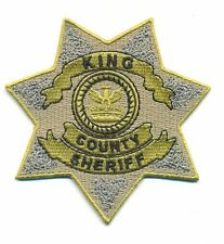 THE WALKING DEAD KING COUNTY POLICE BADGE PATCH - WDED6
