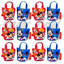 12 PCS Disney Mickey Mouse Candy Bags Mini Coin Purses Party Favors Fillers