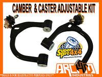 SUPERPRO ADJUSTABLE UPPER CONTROL ARMS CAMBER & CASTER FOR NISSAN R51 PATHFINDER