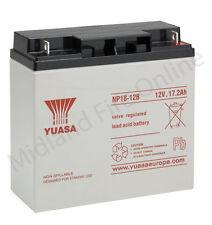 YUASA BATTERIA, autentica, 12V / 18AH SIGILLATA Lead Acid Batteria-NP18-12 Gratis P&P