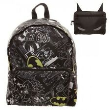 DC COMICS BATMAN LOGO PRINT ALL OVER BACKPACK