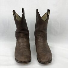 larry mahan Leather Roper cowboy boots
