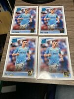 (4) 2018-19 Donruss Phil Foden Rated Rookie No. 179 lot Manchester City INVEST📈