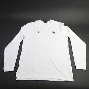 Oklahoma Sooners Nike Jordan  Long Sleeve Shirt Men's White Used