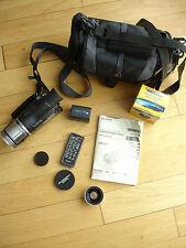 Sony Handycam HDR-HC1 HDV MiniDV Camcorder - NightShot Wide Lens Remote Cables