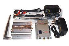 Sistema wireless di trasmissione audio-video a lungo raggio 3.0 Watt 1.2ghz