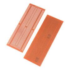 2Pcs Prototype PCB Electric Board Integrated Bakelite Circuit Board 4.8x13.3cm