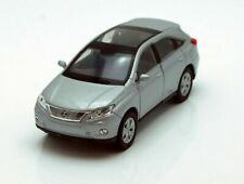 WELLY LEXUS RX 450h 1:34-1:39 Scale DIE CAST METAL CAR MODEL SILVER 4.5 inch