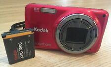 Kodak EasyShare M583 14.0MP Digital Camera - Red *fair/tested*