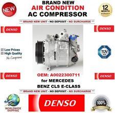 DENSO AIR CONDIZIONE AC COMPRESSORE OEM: A0022300711 per Mercedes Benz Cls E-Class