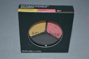 Smashbox Photo Op Eye Shadow Trio - Golden Rod - Papaya - Gilt
