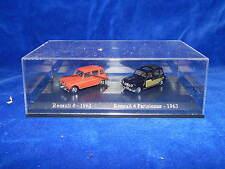 UNIVERSAL HOBBIES - JOUET / Toy - RENAULT 4 1962 - RENAULT 4 PARISIENNE 1963