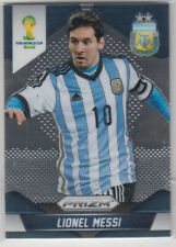 Panini World Cup 2014 Prizm Base Card Lionel Messi #1