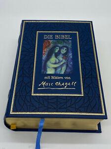 DIE BIBEL MIT BILDERN VON MARC CHAGALL 1990