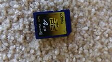 4 GB SD Memory Card  a data