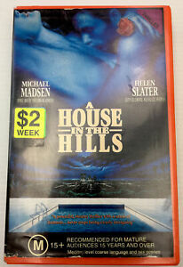 A House In The Hills Helen Slater VHS Video Cassette Tape Red Big Box PAL M15+