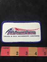 ALL-AMERICAN Advertising Patch - Truck & SUV Accessory Centers 87NI