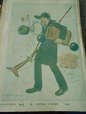 M. Poing Carré par A. Barrère Art Print