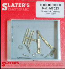 More details for slaters m7023 - screw link coupling 7mm scale - new pack 1st class post