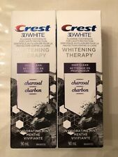 2 Crest - 3D White - Whitening Therapy - Charcoal DC - 90 mL - NIB - EXP 02/2021